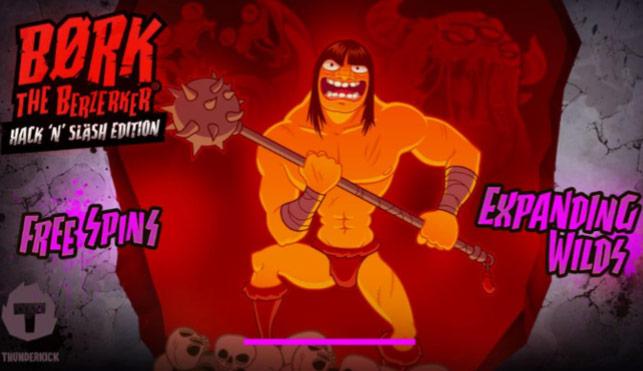 Børk The Berzerker Hack 'N' Slash Edition (Thunderkick) Slot Review
