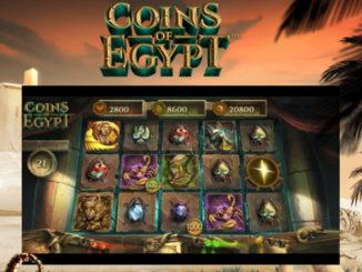 coins of egypt netent