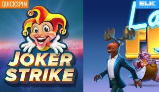 joker strike quickspin lakes five elk studios
