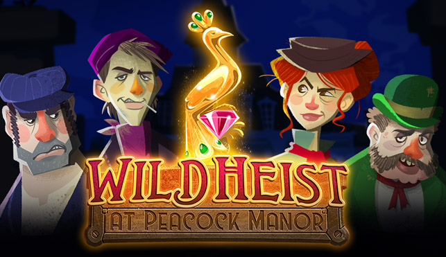 Wild Heist At Peacock Manor (Thunderkick) Slot review