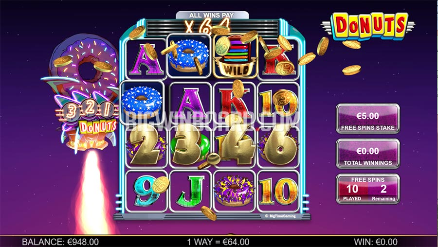 New Donuts Slot From Big Time Gaming