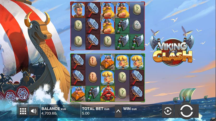 Viking Clash Push Gaming Online Slot Review Bigwinboardcom