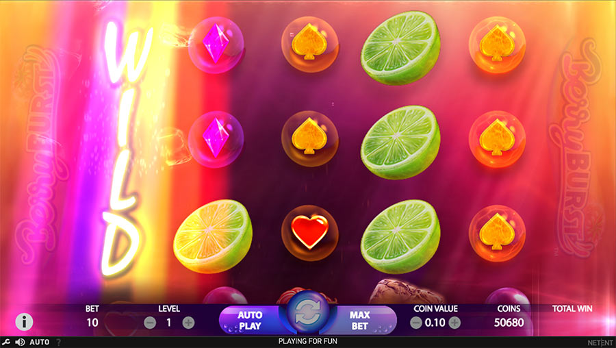 BerryBurst - probably one of the best netent games