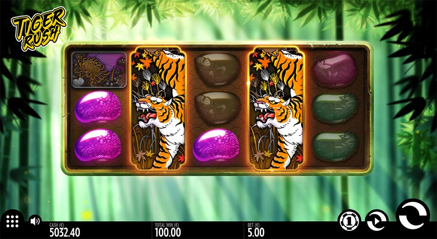 tiger rush thunderkick