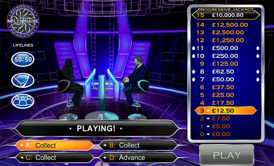 who wants to be a millionaire big time gaming