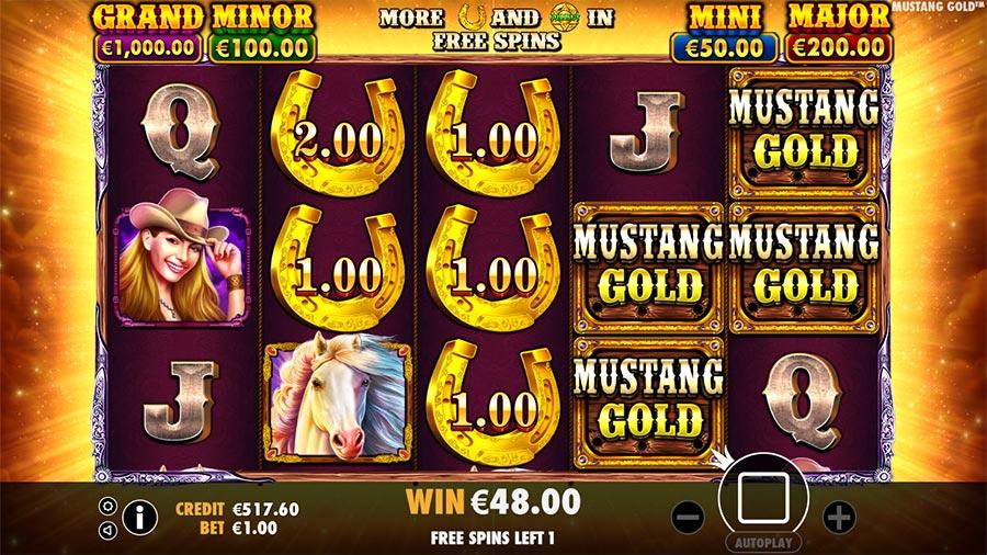 pragmatic play mustang gold