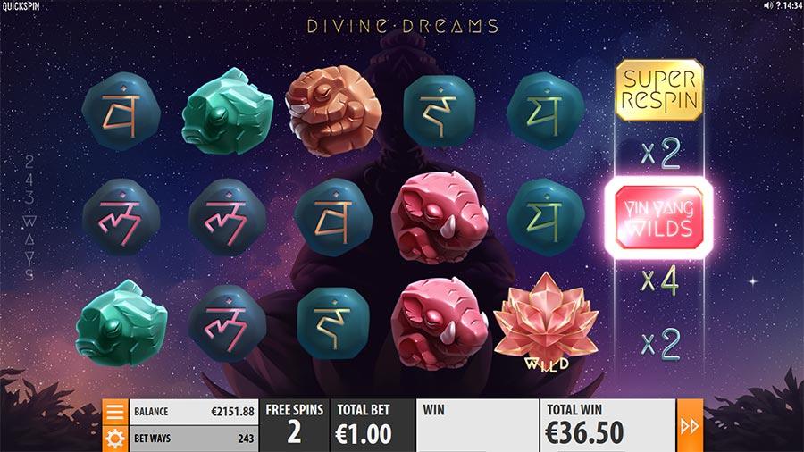 divine dreams quickspin