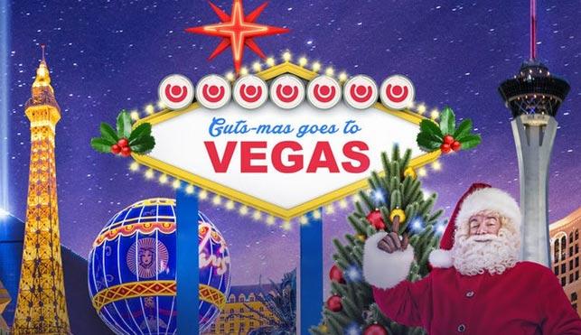 Guts Christmas Promo – Win a Trip to Las Vegas!