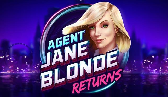Agent Jane Blonde Returns (Stormcraft Studios/Microgaming) Online Slot Review