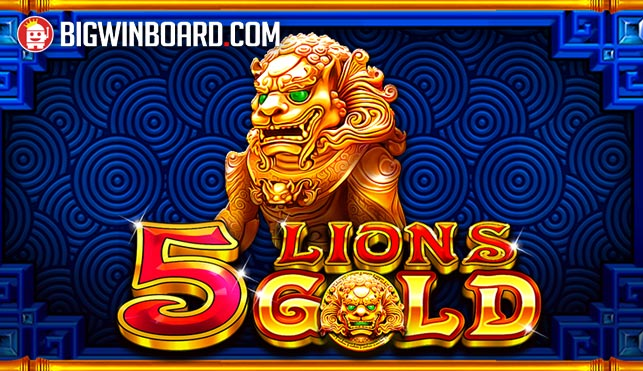 5 Lions Gold (Pragmatic Play) Slot Review & Demo Play