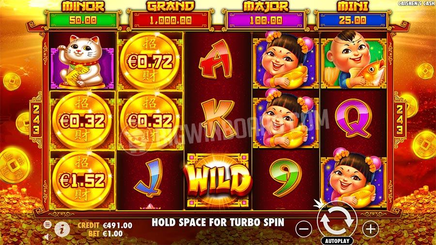 Caishen's Cash (Pragmatic Play) Slot Review - Bigwinboard.com