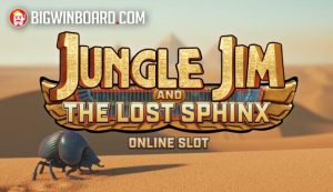 Jungle Jim and The Lost Sphinx (Stormcraft Studios) Slot Review