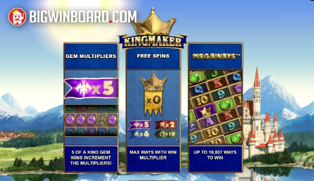 Kingmaker (Big Time Gaming) Slot Review