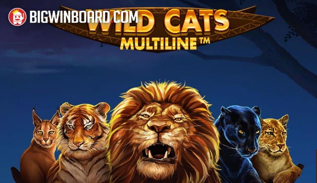 Wild Cats Multiline (Red Tiger) Slot Review