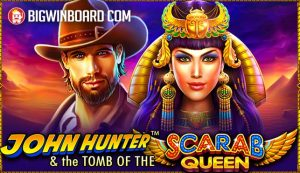 John Hunter and the Tomb of the Scarab Queen (Pragmatic Play) Slot Review