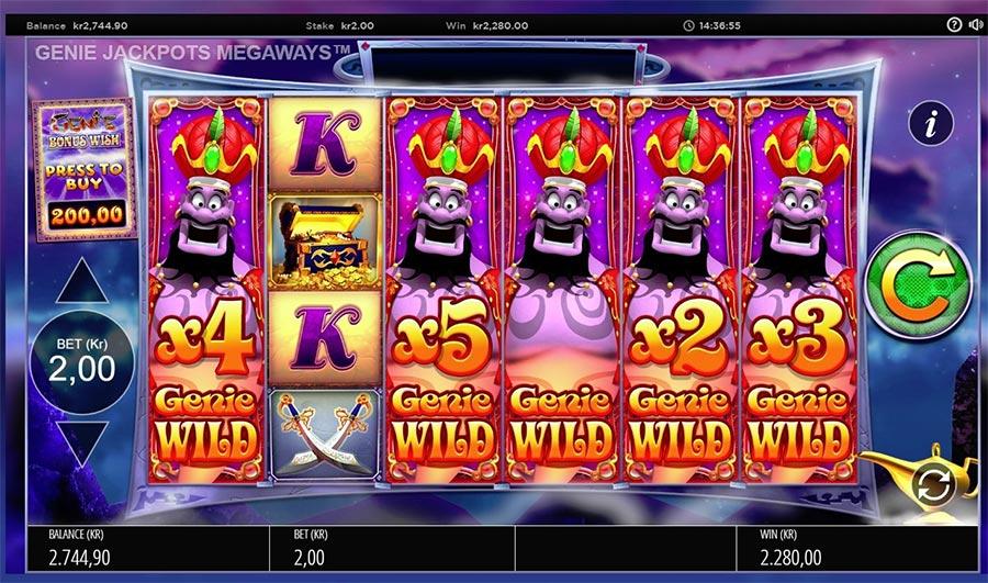 genie jackpot megaways