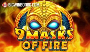 9 Masks of Fire (Gameburger Studios/Microgaming) Slot Review