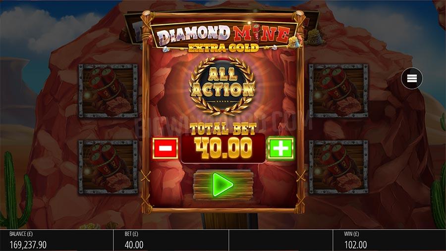 diamond mine all action