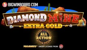 Diamond Mine Extra Gold Megaways: All Action