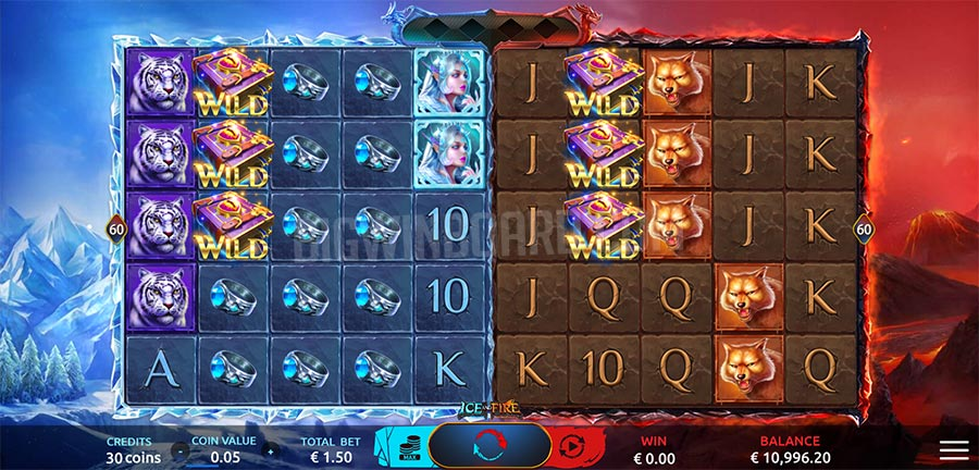 Ice And Fire Dreamtech Gaming Slot Review Demo