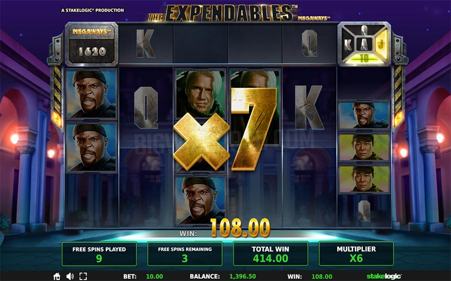 expendables slot