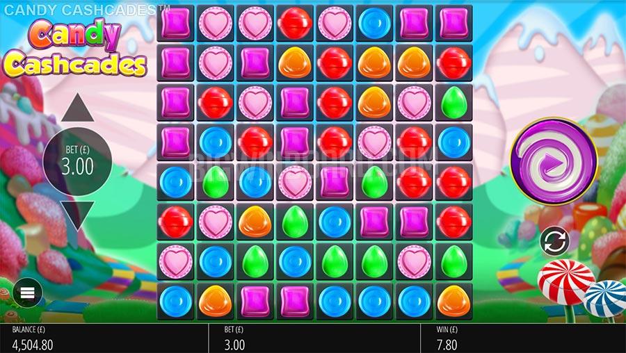 candy cashcades slot