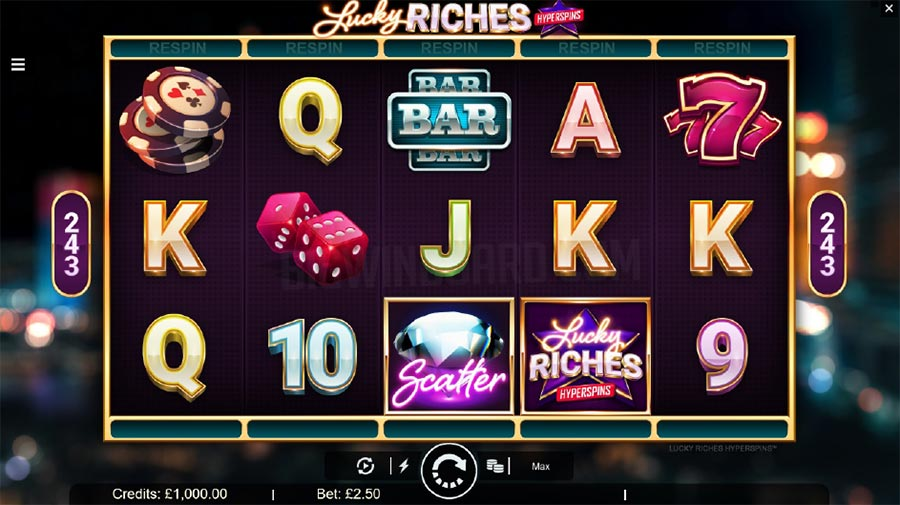 Lucky Riches Hyperspins Slot Machine