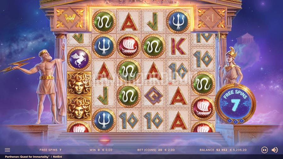 Parthenon Quest For Immortality slot