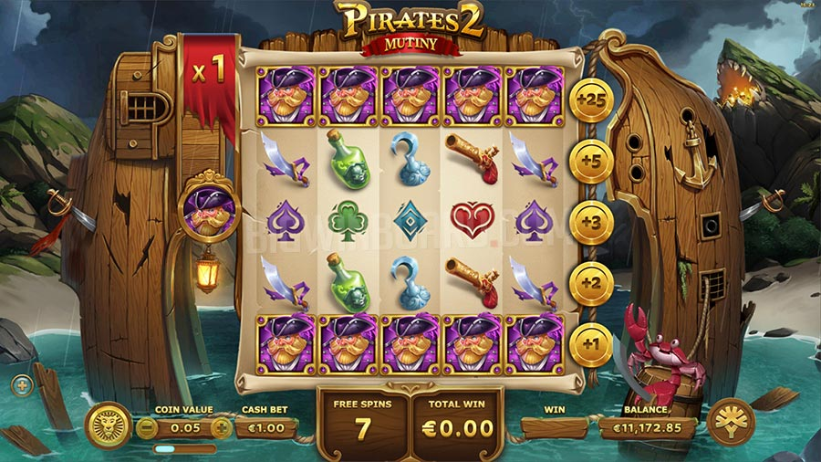 Spiele Pirates 2: Mutiny - Video Slots Online