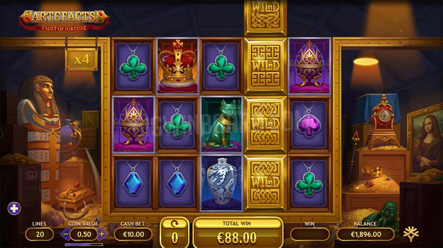 artefacts yggdrasil slot