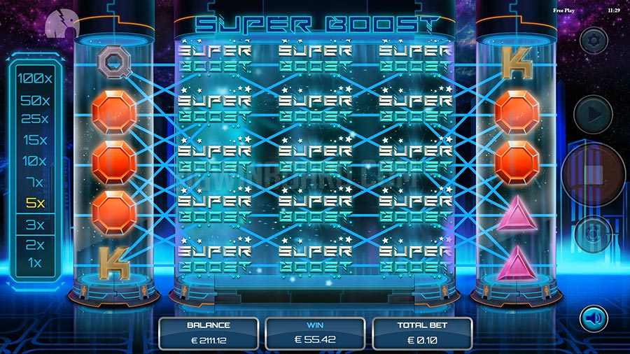 super boost slot