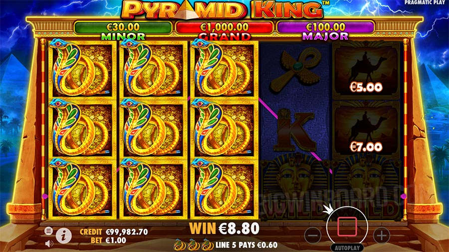 Pyramid King (Pragmatic Play) Slot Review & Demo Play