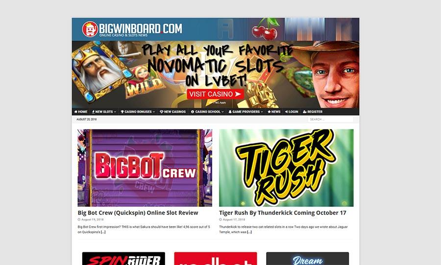 bigwinboard old