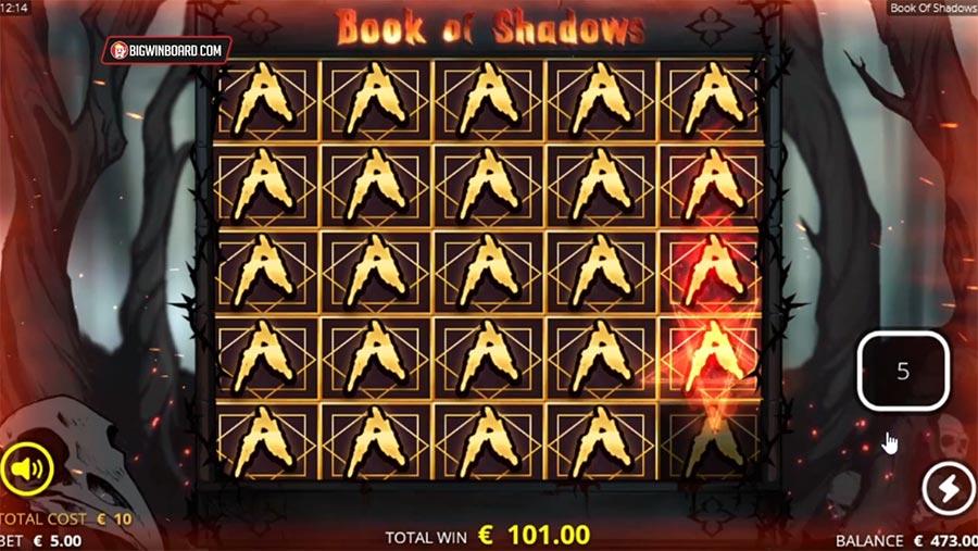book of shadows slot