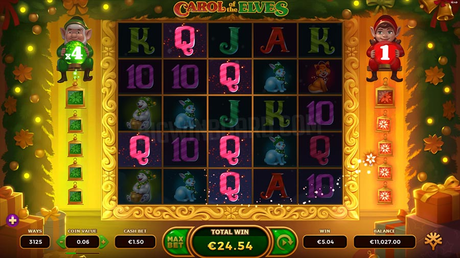 carol of the elves slot