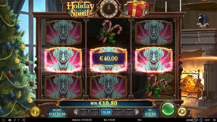 holiday spirits slot