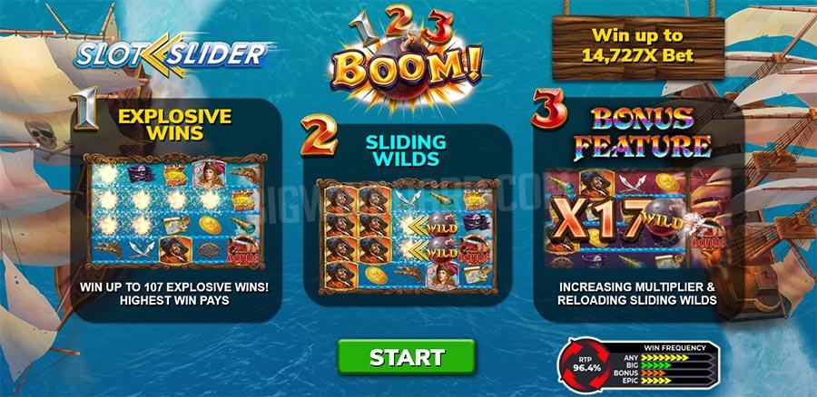 123 boom slot