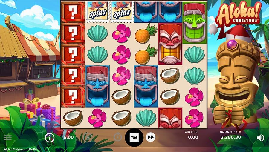 aloha christmas edition slot