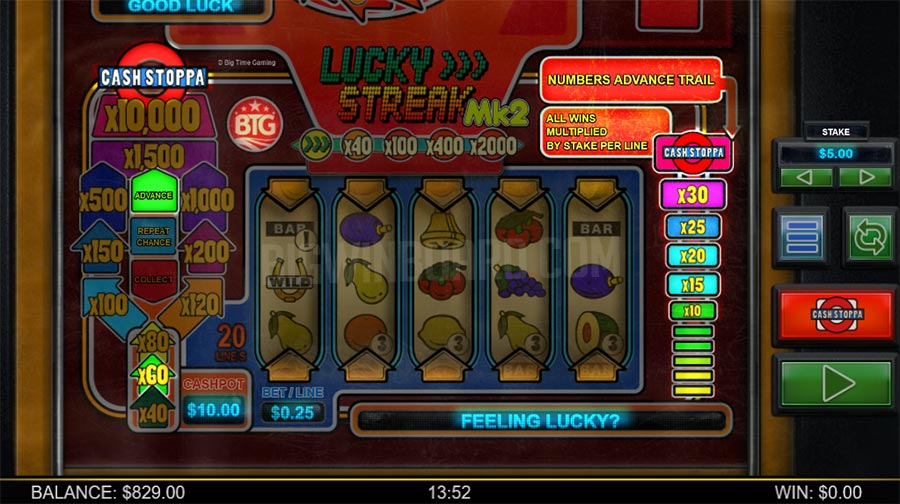 lucky streak mk2