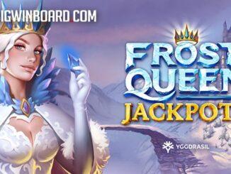 frost queen jackpots slot