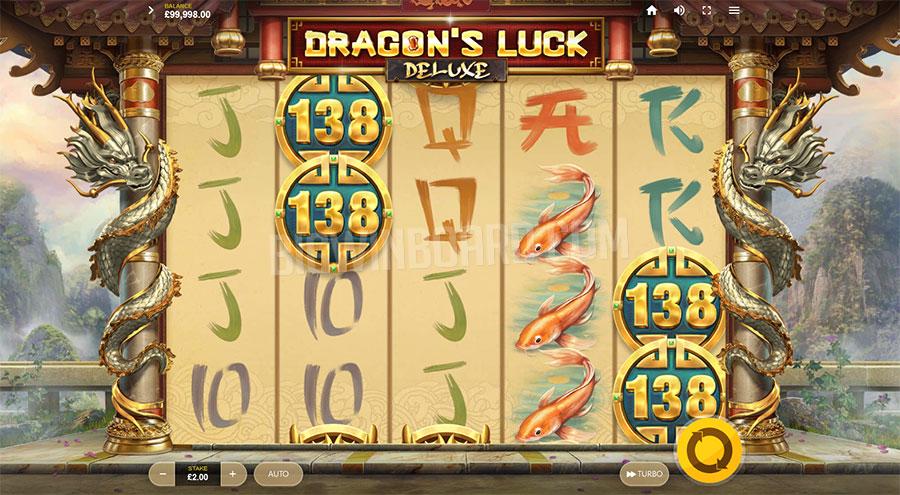 dragons luck deluxe slot