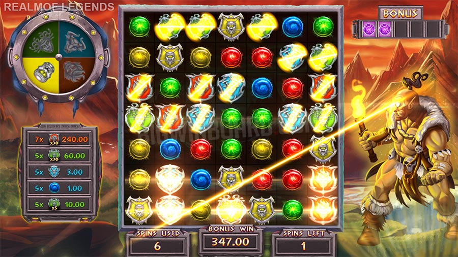 realm of legends slot