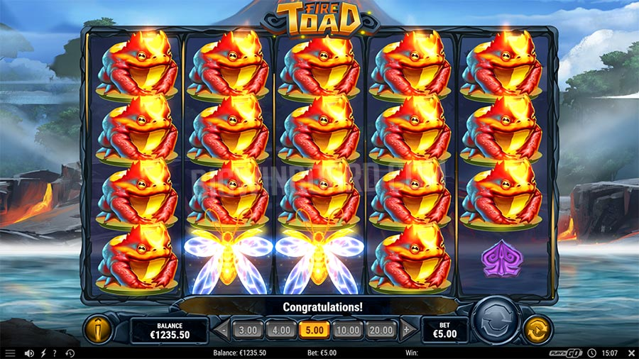 fire toad slot