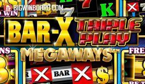 bar x triple play megaways