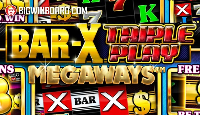 bar x triple play megaways