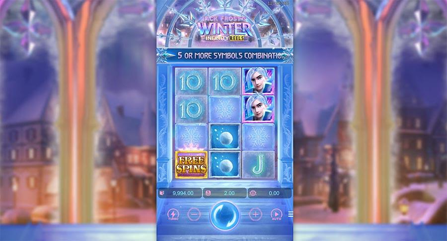 jack frosts winter infinity reels