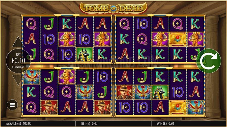 Tomb of Dead Power 4 Slots