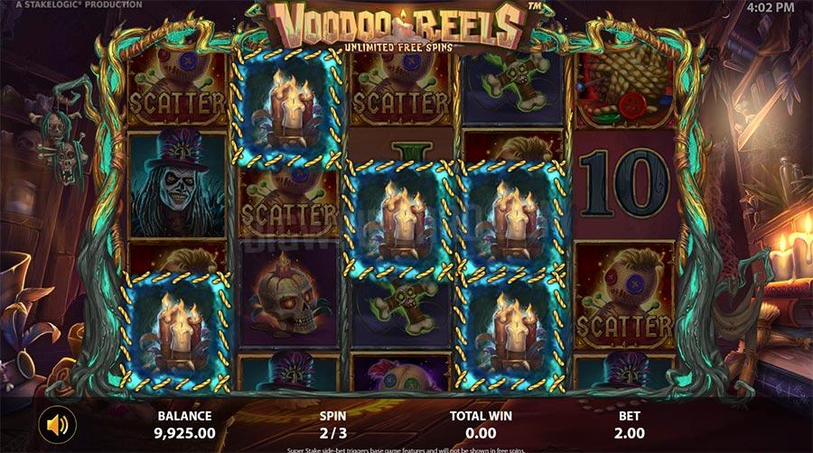 voodoo reels stakelogic
