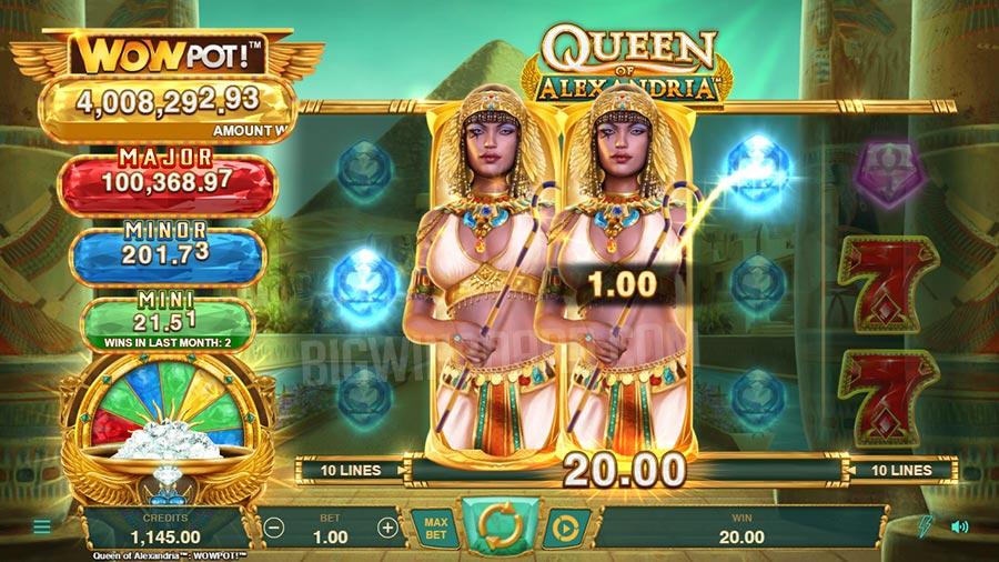 queen of alexandria slot
