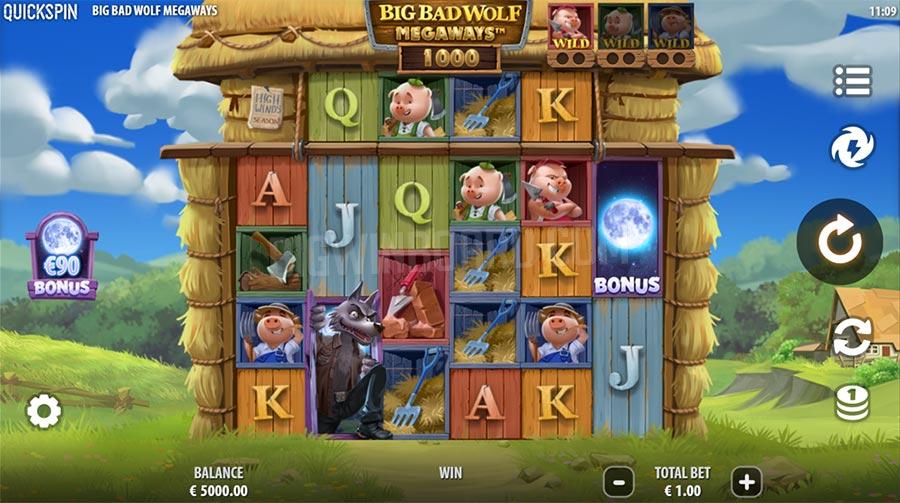 Big Bad Wolf Megaways slot